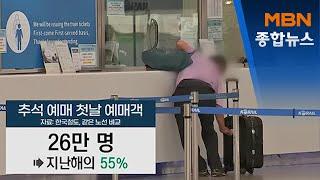 추석 열차 승차권 예매 첫날 26만 명 예매…지난해의 …