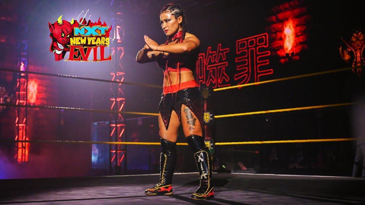 Xia Li vs Katrina Cortez NXT New Year's Evil - YouTube