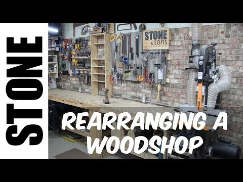 Rearranging a Woodworking Shop