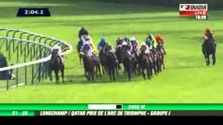 Qatar Prix de l'Arc de Triomphe 2012 : Solemia - Equidia