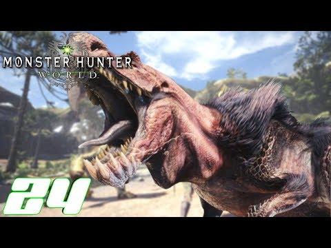 Monster Hunter World Ps4 German #24 Wir killen einen Anjanath thumbnail