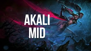 League of Legends - Headhunter Akali Mid - Full Game Commentary