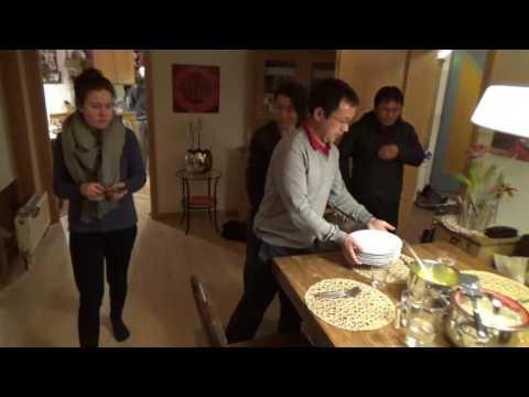 2016 Bhutan teachers cook in Austria