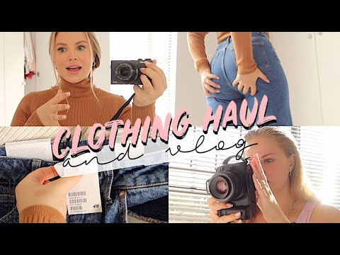 VLOG: Shopping, Clothing Haul, Outfit Ideas, Body Dysmorphia, Shooting Campaigns & Cook With Me