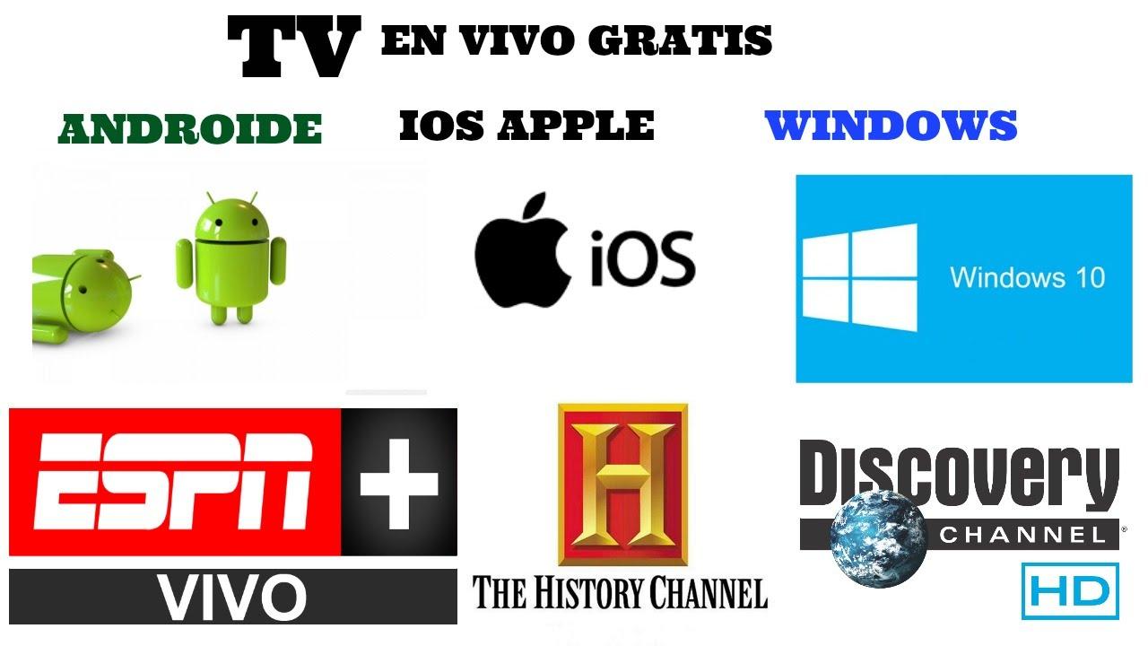 Television en vivo gratis para android ios y windows youtube