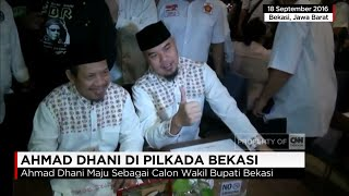 Ahmad Dhani Resmi Calon Wakil Bupati Bekasi dari Gerindra & PKS