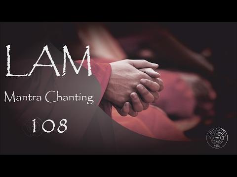 LAM Mantra 457 Hz ROOT CHAKRA Meditation (108 times)