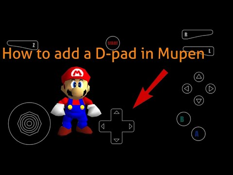 How To Add A D-pad In Mupen64Plus - Android