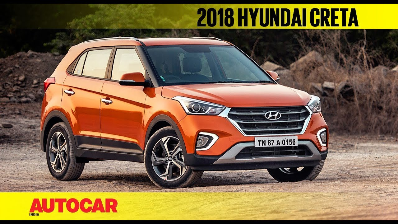 2018 Hyundai Creta Facelift First Look Review Autocar India