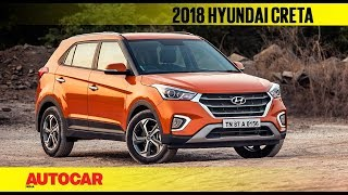 2018 Hyundai Creta facelift   First Look Review   Autocar India