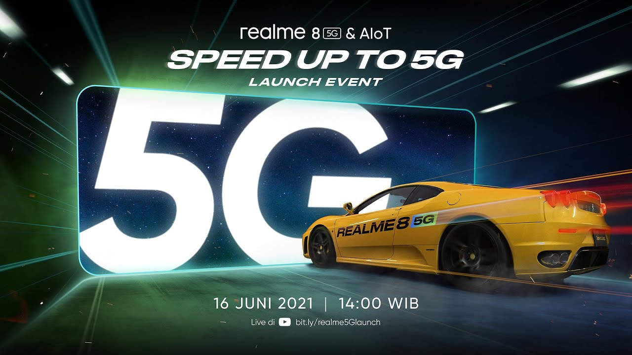 realme 8 5G | Speed up to 5G