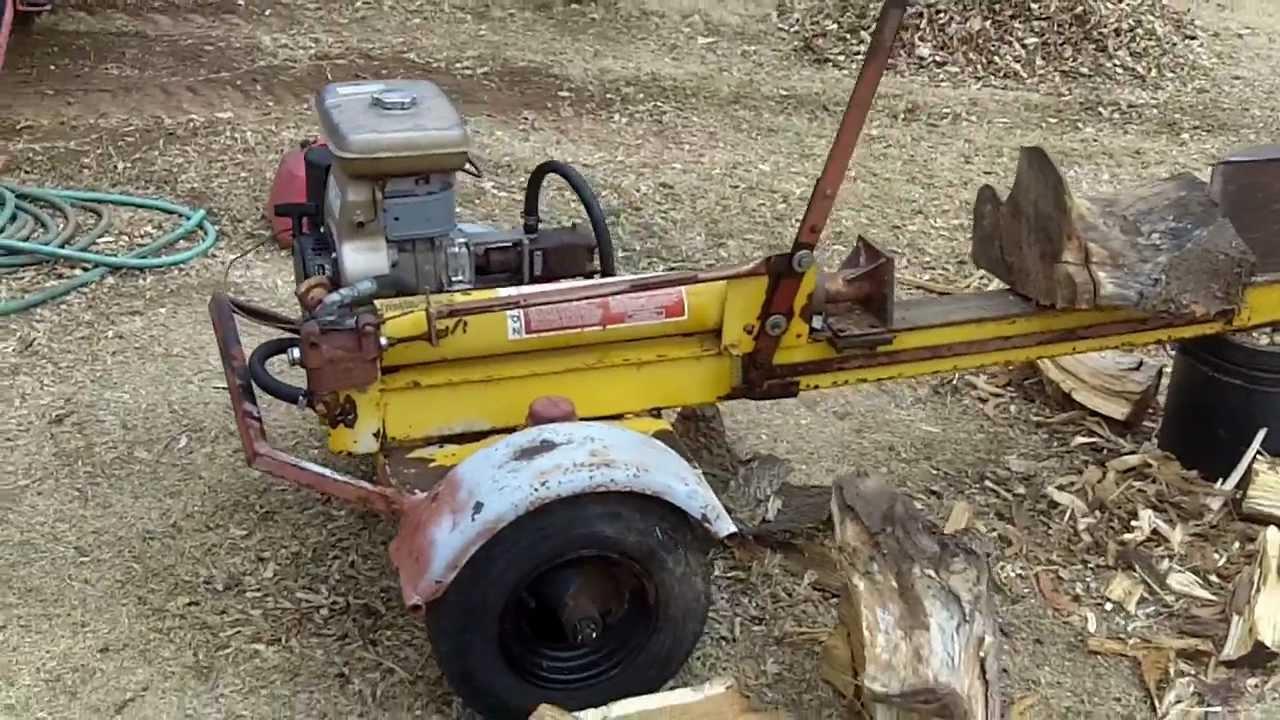 Log Splitter For Sale >> Lickity Splitter log splitter - YouTube