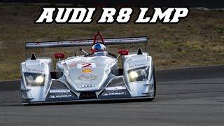2005 Audi R8 LMP1 - racing at Spa & Nürburgring 2018