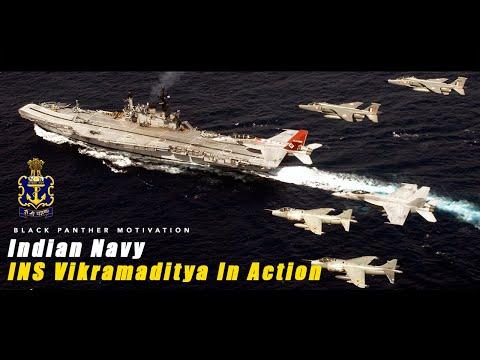 Indian Navy | INS Vikramaditya In Action - 2018