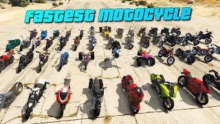 GTA V Online which is the fastest bike in 2021 | Top Speed