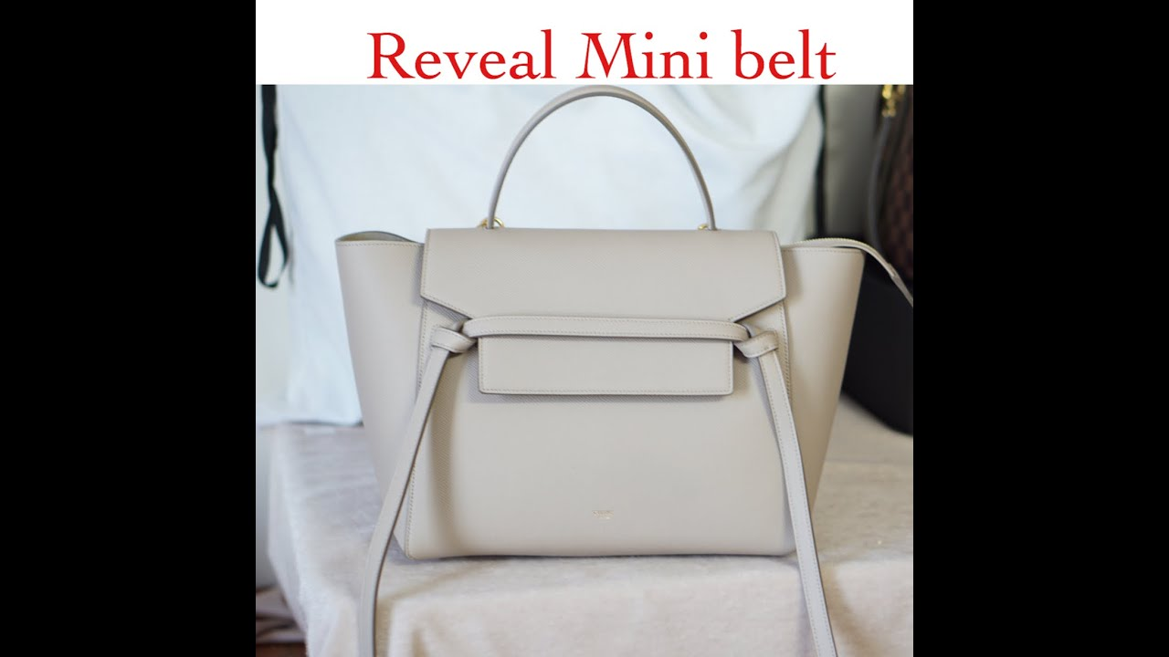 Reveal Celine mini belt - YouTube a3cda27f83b3b