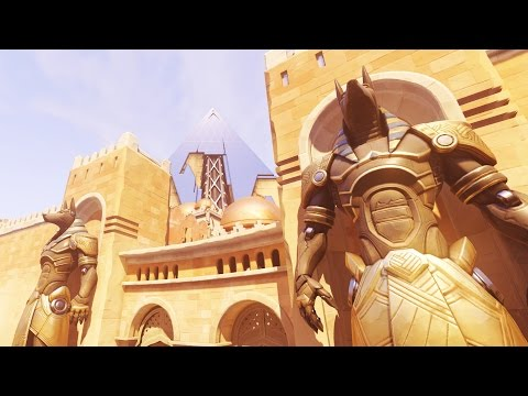 Overwatch Travel Guide - Temple of Anubis Map Guide!