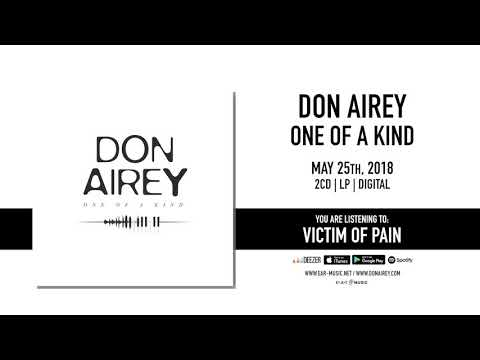 """Don Airey """"Victim Of Pain"""" Official Song Stream - New album """"One Of A Kind"""" out May 25th, 2018"""