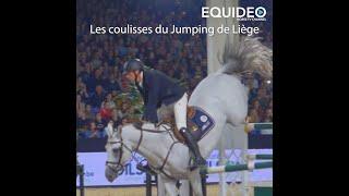 Dans les coulisses du Jumping International de Liège