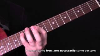 how to write guitar riffs using drop tunings - heavy metal riff guitar lesson