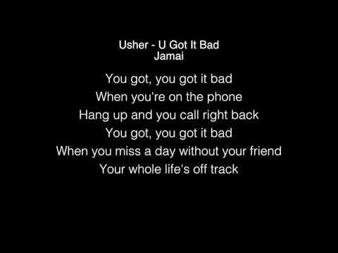 Jamai - U Got It Bad Lyrics (Usher) The Voice