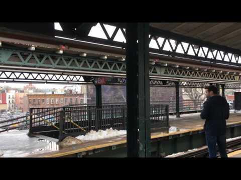 Triborough Bridge from Astoria Boulevard Subway Station