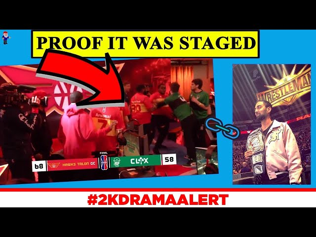 NBA STAGED A FIGHT FOR VIEWS??! 2K DEVOLOPER CAUGHT LYING #2KDramaAlert