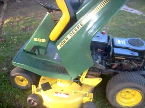 john deere s92 and yard machines 14.5 lt - YouTube on john deere s4, john deere s80, john deere riding mower manuals, john deere riding lawn mower accessories, john deere mower w 38 l, john deere s82, john deere 210, john deere s40, john deere s45, john deere gx95, john deere s-92 manual, john deere mower deck parts, john deere s-92 deck, john deere d140, john deere s10,