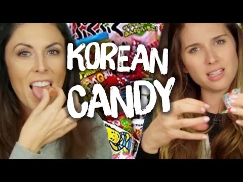 Our First Time Trying Korean Candy (Cheat Day)