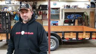 Smouse Trailers, Quality Trailers 16x7 utility trailer review.