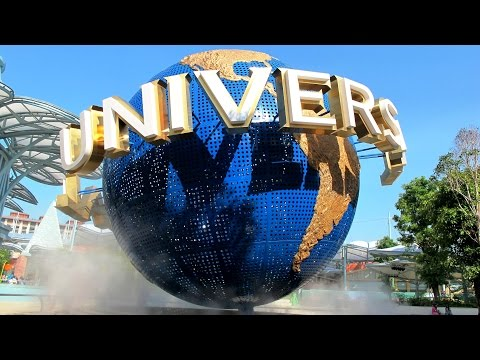 Universal Studios Singapore Walkthrough 2016 Time Lapse