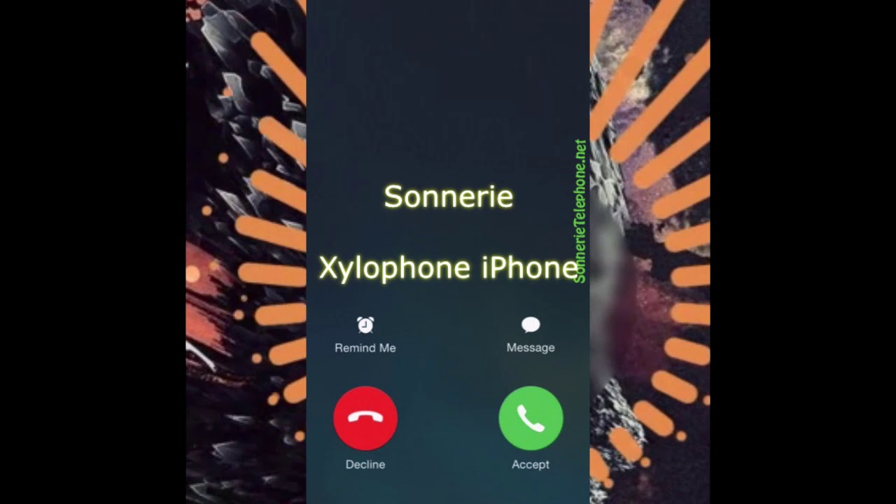 sonnerie iphone xylophone