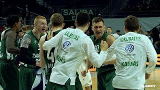 #SlowMotion: Zalgiris wins in Madrid and advances to the playoffs!