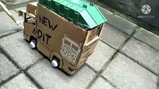 Download story wa miniatur truk kardus bali  oleng angkat ban