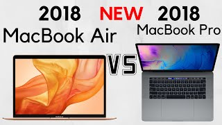 Should you get the 2018 MacBook Air or the Non-Touch Bar MacBook Pro?