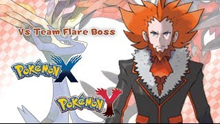 Repeat youtube video Pokémon X/Y - Vs Team Flare Boss Music HD (Official)