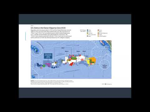 Introduction to the International Seabed Authority and Seabed mining part 2