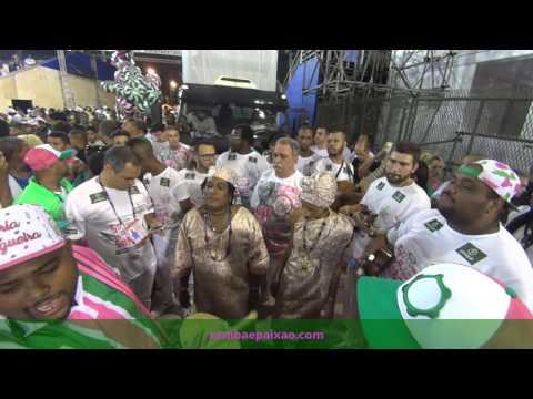 Ensaios Técnicos 2017: Ciganerey canta o Samba Exaltação da Mangueira no Teste de Luz e Som