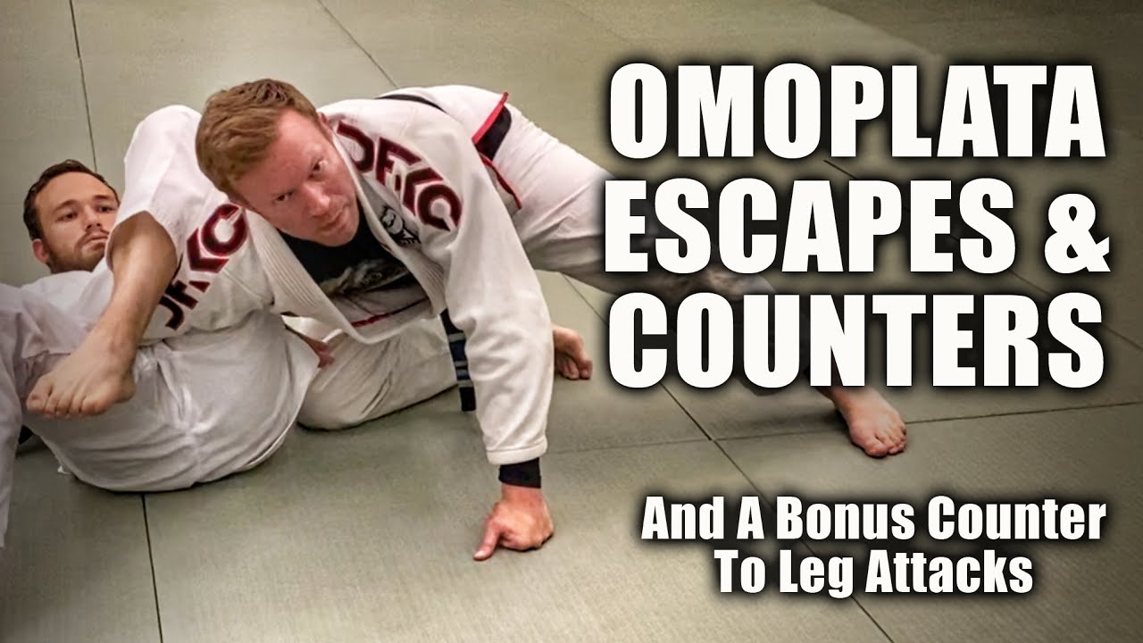 Countering the Omoplata + Bonus Counter Leg Attack | Jiu-Jitsu Strategies