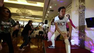 騎馬舞 - 江南Style / Psy Gangnam Style -- Mega box 百樂門亞拉斯加蟹宴聯歡 181115N