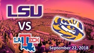 LSU Football VS LA Tech