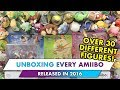 UNBOXING EVERY AMIIBO RELEASED IN 2016!!!