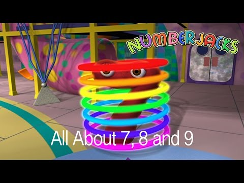 NUMBERJACKS | All about 7, 8 and 9