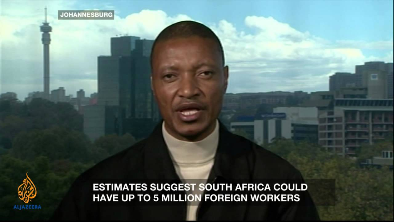 South African immigrants: 