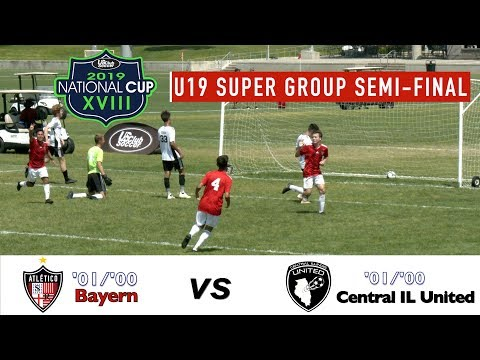 2019 National Cup XVIII Semi-Final Highlights - Atletico Santa Rosa Bayern v Central IL Utd.