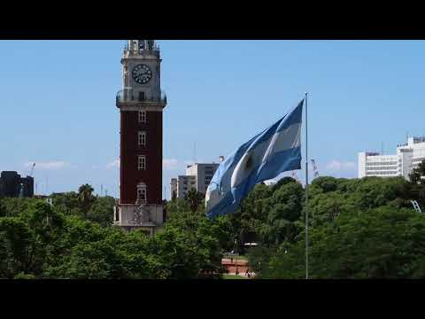 English Tower, Plaza San Martin, Buenos Aires, Argentina, 2018-02-05