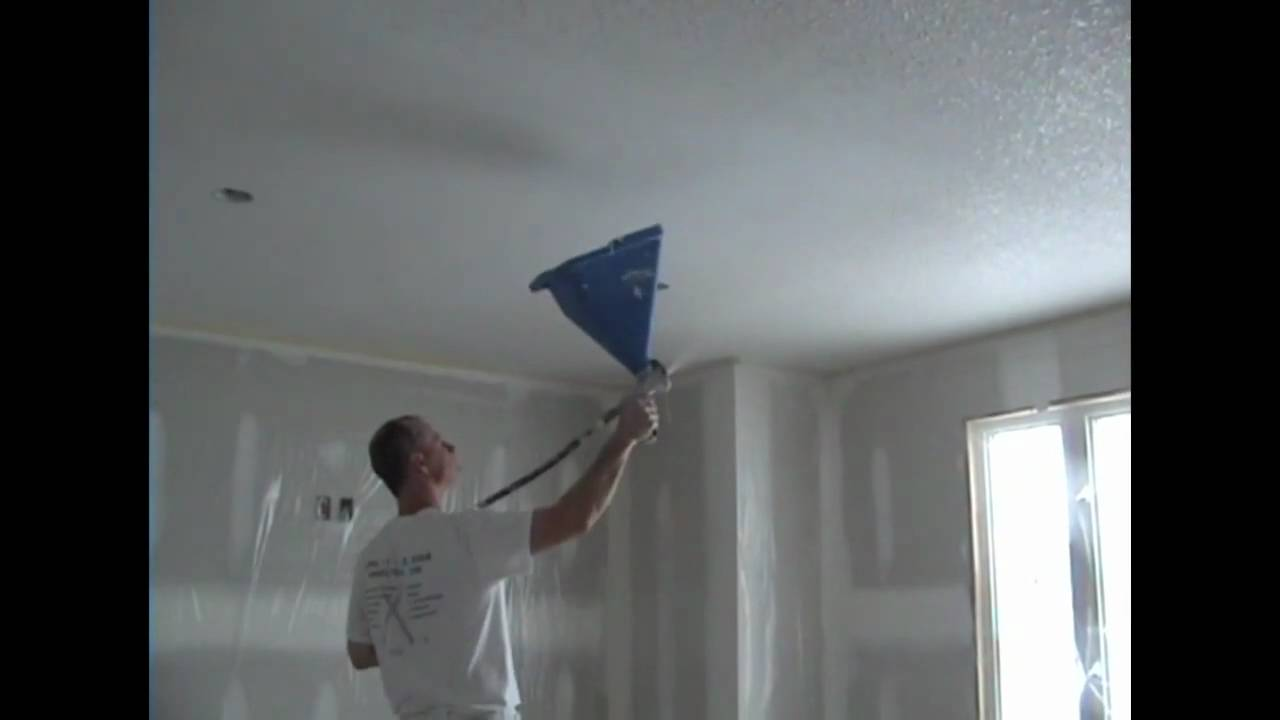How To Do California Ceilings Youtube