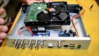 Instalar disco rígido en DVR SEISA H.264