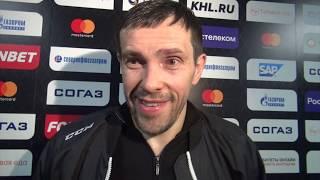 Первое интервью Дацюка / Если хоккей надоел, нужно уходить / Пара слов о Хабибе