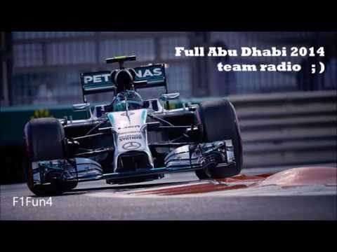 Nico Rosberg BEST team radio compilation EVER!